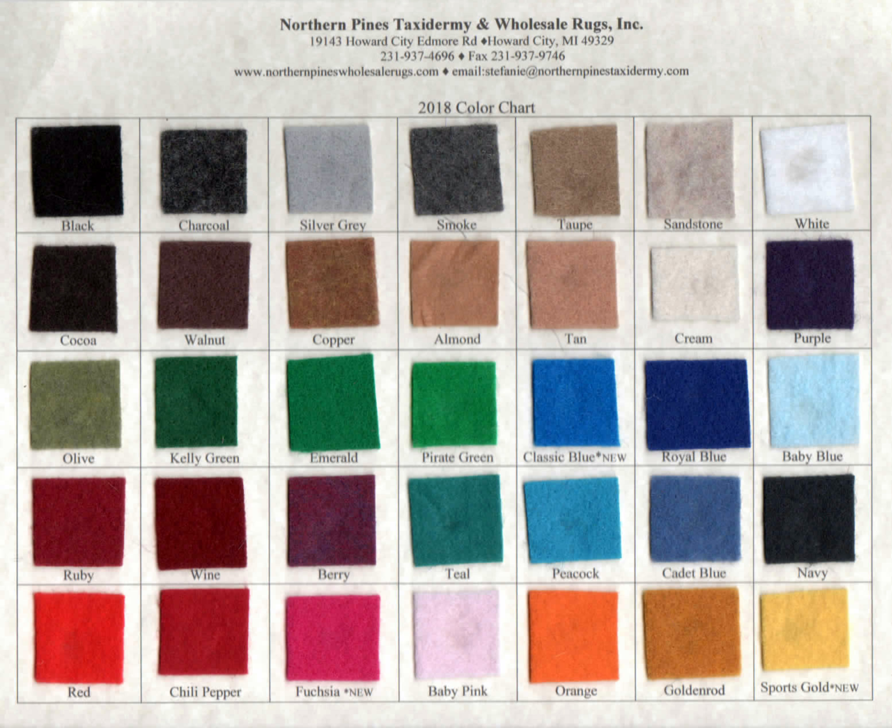 Untitled page color chart geenschuldenfo Image collections
